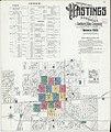 Sanborn Fire Insurance Map from Hastings, Adams County, Nebraska. LOC sanborn05196 006-1.jpg