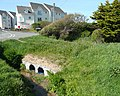 Sandbag wall, Flexbury - geograph.org.uk - 1345221.jpg