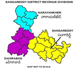 Sangareddy district - Sangareddy District Revenue divisions