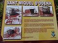 Sant Miquel d'Òdena - 01 placa informativa.JPG