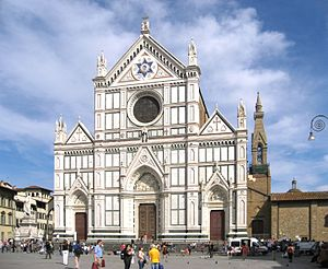 Exterior of the Basilica of Santa Croce (Flore...