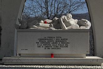 Sant'Anna di Stazzema massacre - Massacre memorial sculpture