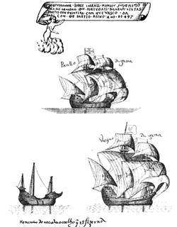 flagship of Vasco de Gama