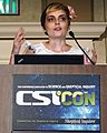 Sara Mayhew at CSICON - Oct 2012.JPG