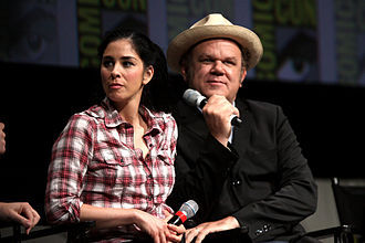 Wreck-It Ralph - Sarah Silverman and John C. Reilly presenting Wreck-It Ralph at the 2012 San Diego Comic-Con International