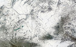 Satellite image of Hungary in December 2002.jpg