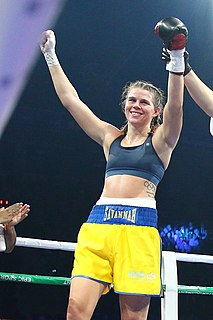 Savannah Marshall English boxer