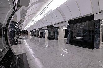 Savyolovskaya (Bolshaya Koltsevaya line) - Savyolovskaya metro station on its opening day