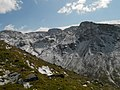 Scafell Pike in the snow, April 4 2012.jpg