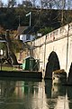 Scaffold on the bridge - geograph.org.uk - 1770678.jpg