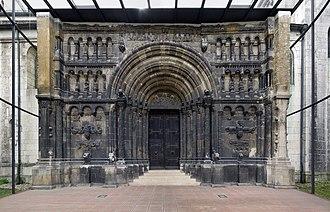 Hiberno-Scottish mission - Schottenportal at the Scottish Monastery, Regensburg
