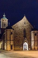 Evangelical main church St. Johannis (inherited from 1200)