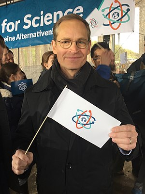 Michael Müller (politician) - Müller at the 2017 March for Science in Berlin