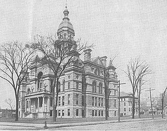 Scott County Courthouse (Iowa) - Scott County Courthouse built in 1886
