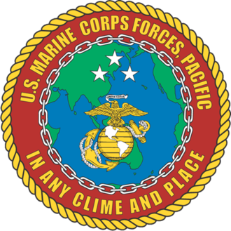 United States Marine Corps Forces, Pacific - MARFORPAC insignia