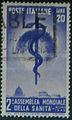 Seconda assemblea dell'Organizzazione Mondiale della Sanità - 1949 - francobolli Italia.jpg