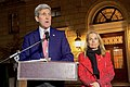 Secretary Kerry, Ambassador Hartley Host Ceremony to Light U.S. Embassy in French Tricolor Following Terrorist Attack on City (23083216581).jpg