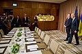 Secretary Kerry Listens as Vice President Biden Responds to a Reporter's Question Before a Bilateral Meeting With Ukrainian President Poroshenko in Davos (24507170125).jpg
