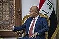 Secretary Pompeo Meets with Iraqi President Barham Salih (33922026888).jpg