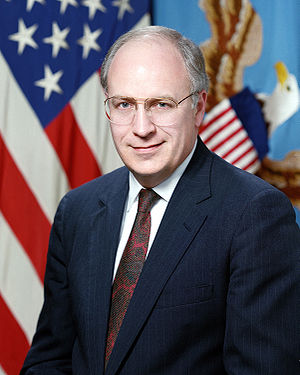 Official portrait of Secretary of Defense Rich...