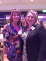 Secretary of State Karen Bradley & Jane Luca at the Woman of the Year awards earlier this week. A fantastic event to recognise and celebrate inspirational women from all walks of life. (30904582837).png