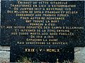 Sedan - Château fort - Plaque commémorative.JPG