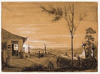 Sede de fazenda nos arredores do Rio de Janeiro (atribuído)