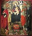 Seguace del ghirlandaio, madonna col bambino e santi, da s. donato a castelnuovo dei sabbioni (cavriglia), 1485-95 ca. 01.JPG