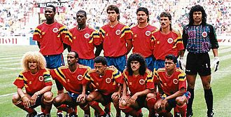 Colombia national football team - Colombia at the 1990 World Cup