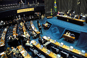 National Congress of Brazil - Image: Senado 2006