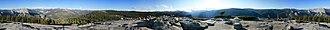 Sentinel Dome - Image: Sentinel Dome Panorama