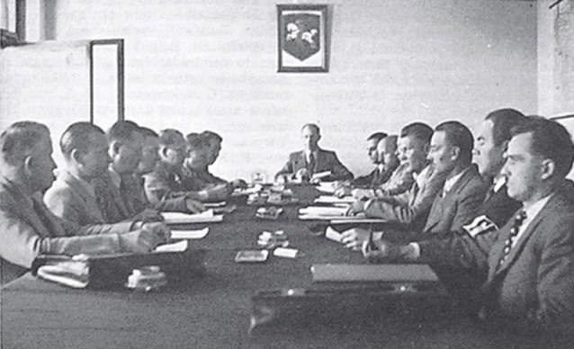 Session of the Provisional Government of Lithuania