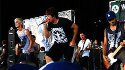 Set Your Goals auf der Warped Tour 2008