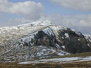 Sgurr nan Conbhairean Mountain in the Northwest Highlands, Scotland