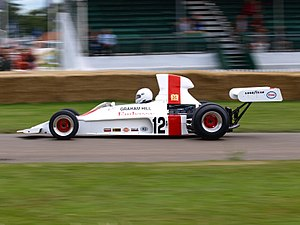 Shadow Racing Cars - Image: Shadow DN1 (Hill) 2008 Goodwood