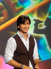 Indian actor Shahid Kapoor