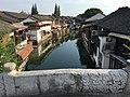 Shanghai Qingpu - Zhujiajiao IMG 8276 Caohe Street and canal Tai'an Bridge.jpg