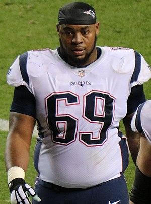 Shaq Mason - Mason with the Patriots in 2017.