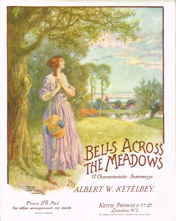 Sheet music for Bells Across the Meadow