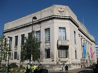 Sheffield Central Library - Image: Sheffield Central Library 2014
