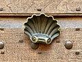 Shell-shaped doorknobs in Reggio Emilia, Italy 01.jpg