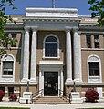 Sherman County Courthouse (Nebraska) S entrance 1.JPG