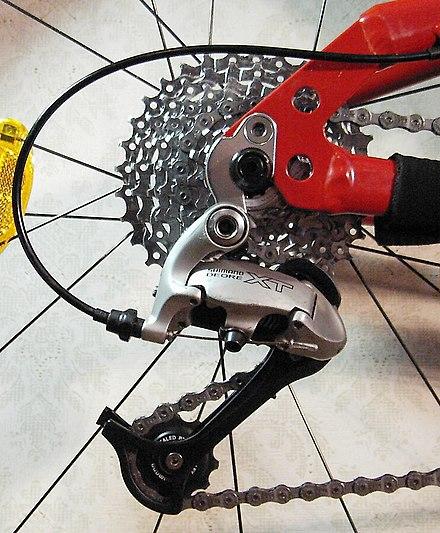 Велосипедный переключатель скоростей - Википедия