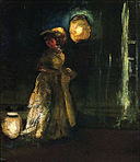 Shinn 1912 Girl with Japanese Lanterns.jpg