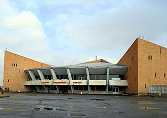 Shirak Airport - Image: Shirak Airport (exterior)