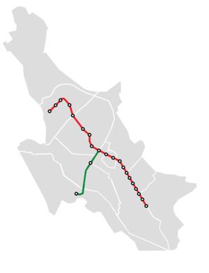 Shiraz Metro - Shiraz Metro's Line 1