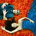 Shlomit Levi & RebbeSoul - Soaring Through A Dream by Dina Bova.jpg
