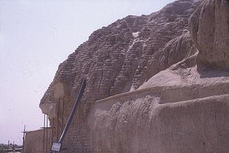 Tepe Sialk - Image: Sialk wall