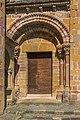 Side door of the Saint Faith Abbey Church.jpg