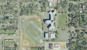 Sidney Lanier High School - The campus